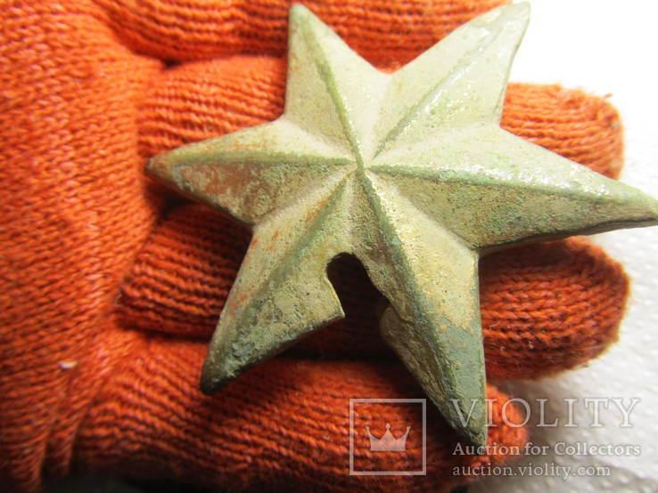 Накладка (звезда) в позолоте, фото №10