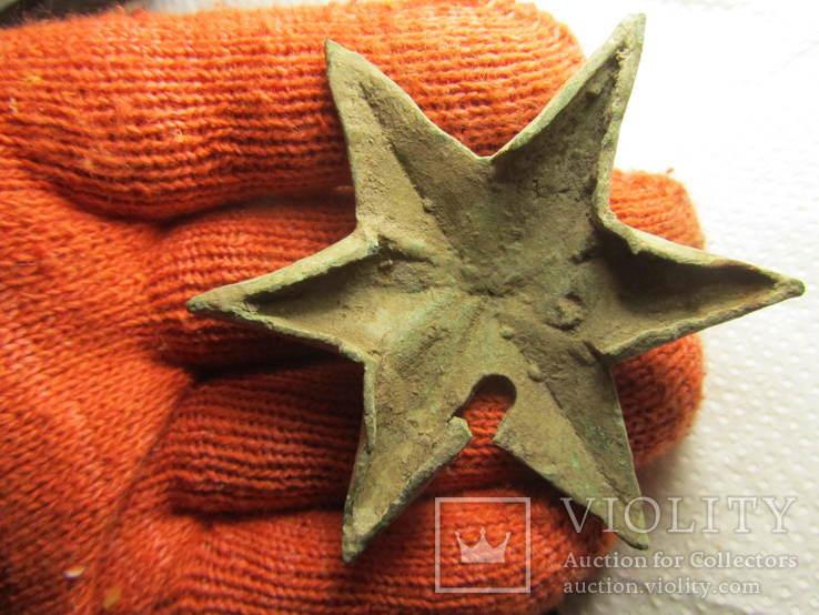 Накладка (звезда) в позолоте, фото №11