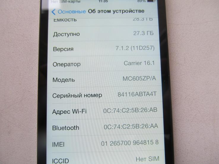 IPhone 4 32Gb  оригинал, фото №11
