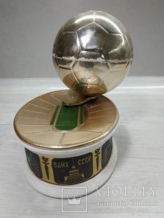 Музыкальная Шкатулка Стадион Футбольный мяч СССР, фото №2
