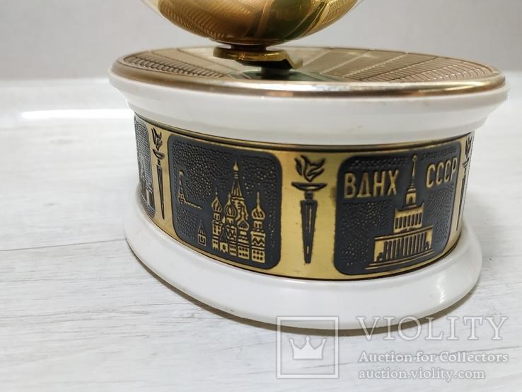 Музыкальная Шкатулка Стадион Футбольный мяч СССР, фото №5