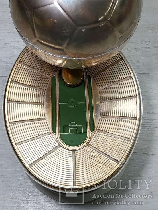 Музыкальная Шкатулка Стадион Футбольный мяч СССР, фото №7