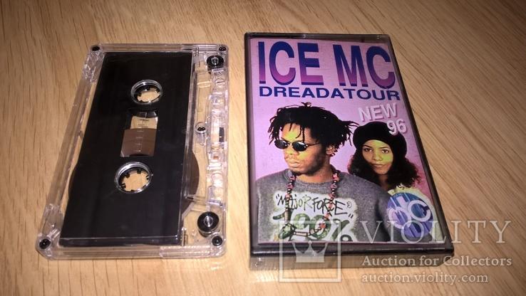 ICE MC (Dreadatour) 1996. (МС). Кассета. ART. Ukraine. Techno, фото №2