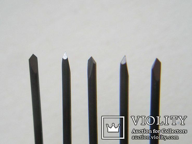 Шаберы для механической чистки, победит, трехгранная заточка, 5 шт. лот1, фото №2