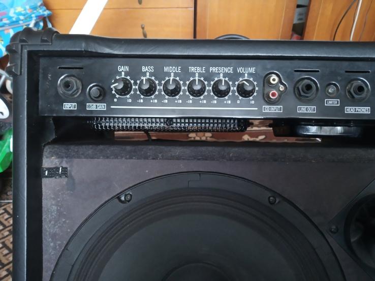 Комбопідсилювач для бас гитари Ibanez SW65, фото №5
