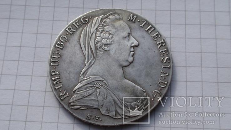 Талер Мария Терезия 1780 год Австрия, фото №2