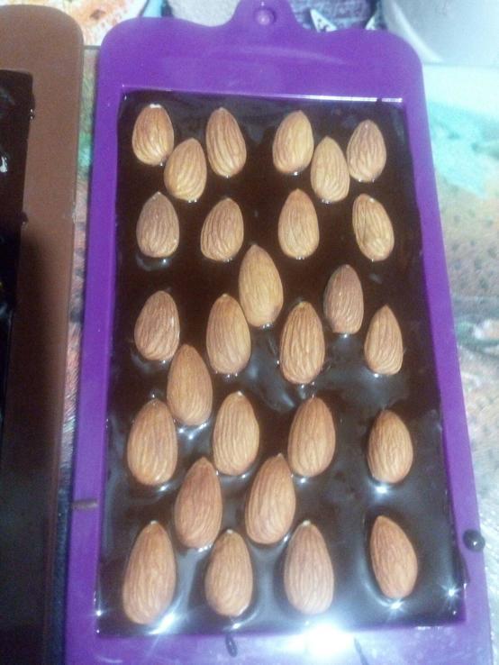 Натуральный Сладкий шоколад из кэроба без сахара 100%, фото №5