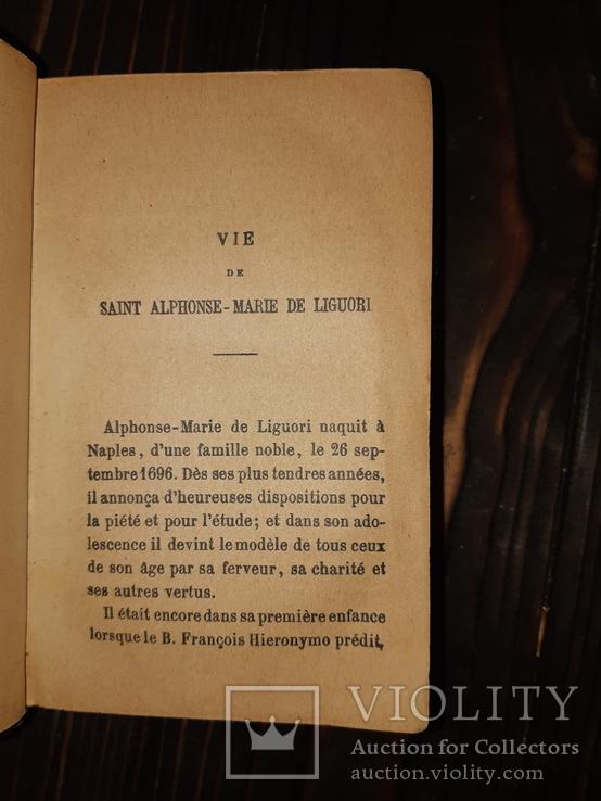 1876 Le Pouvoir de Marie - тройной золотой обрез, фото №3