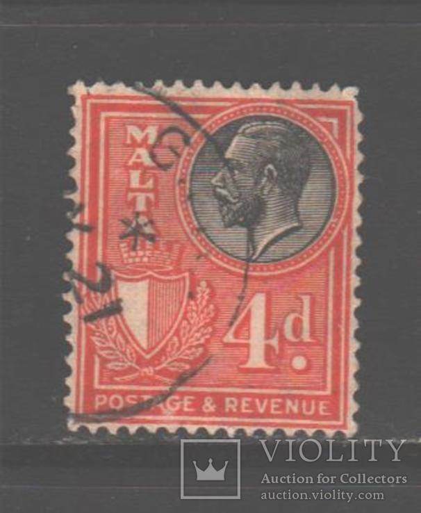 Брит. колонии. Мальта. 1930. Георгий V, 4 п., гаш.