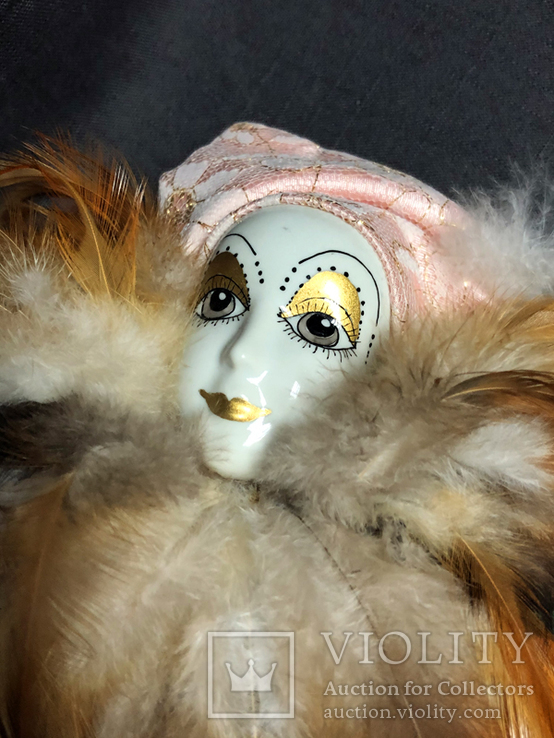 Кукла Арлекин №1, фото №4