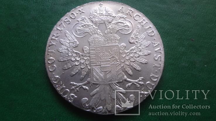 Талер Марии Терезии 1780 серебро    (2.5.10)~, фото №3
