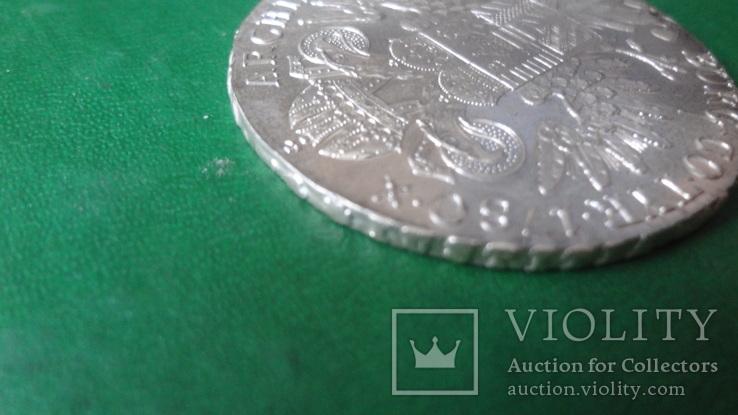 Талер Марии Терезии 1780 серебро    (2.5.10)~, фото №6