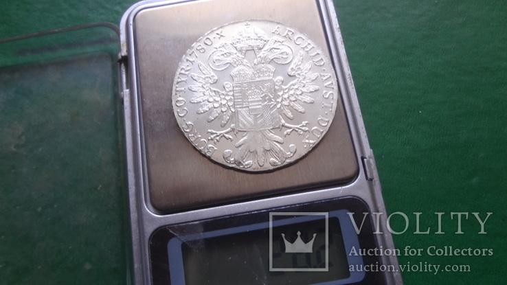 Талер Марии Терезии 1780 серебро    (2.5.10)~, фото №7
