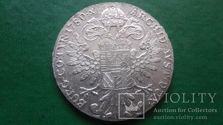 Талер Мария Терезия 1780 серебро (2.5.16)~, фото №3