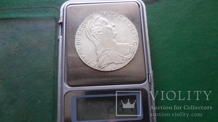 Талер Мария Терезия 1780 серебро (2.5.16)~, фото №7