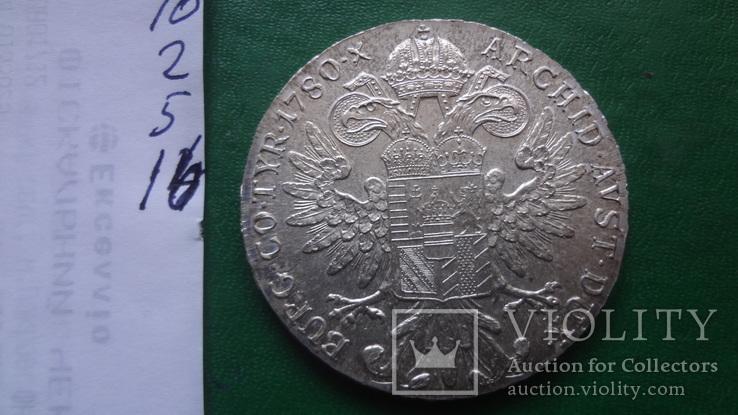 Талер Мария Терезия 1780 серебро (2.5.16)~, фото №8