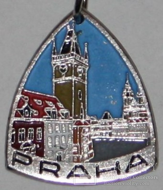"""46.Брелок """"Прага-турист"""" 1970-80 гг., фото №3"""