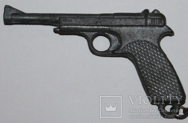 """60.Брелок """"Пистолет"""" 1970-80 гг., фото №3"""