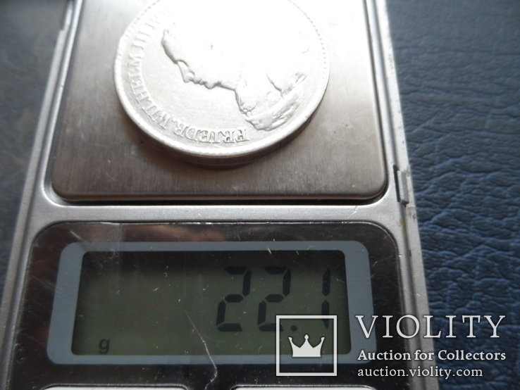 Талер 1818  Пруссия   серебро    ($5.7.8)~, фото №9