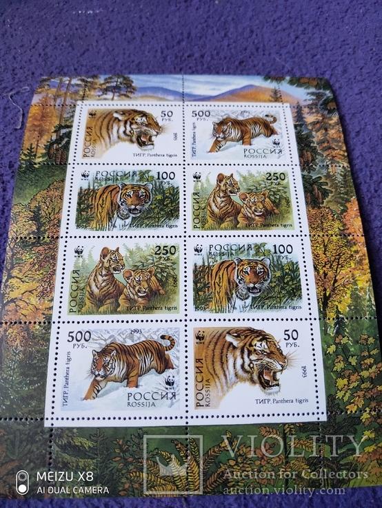 Малый лист России 1993г, фото №2