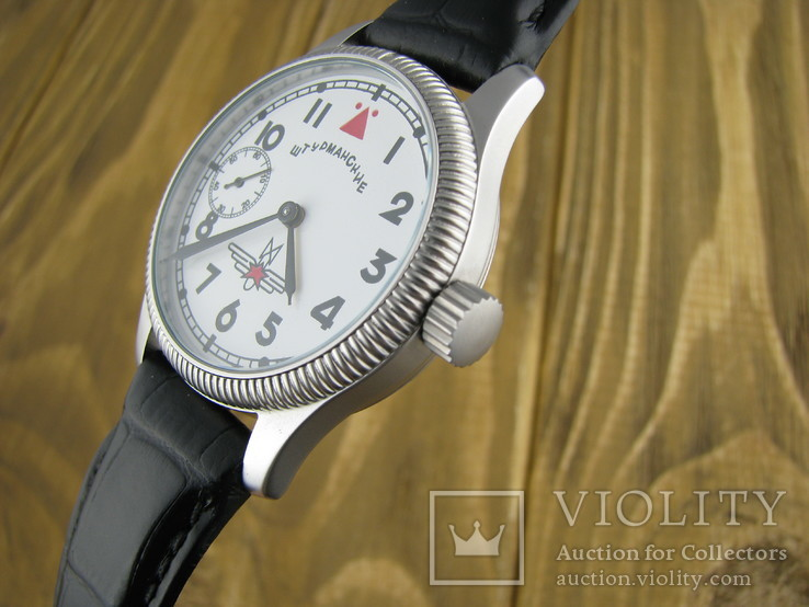 Часы наручные Молния Штурманские 3602, 18 камней, фото №5