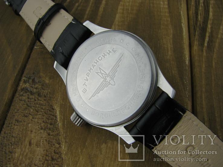 Часы наручные Молния Штурманские 3602, 18 камней, фото №8