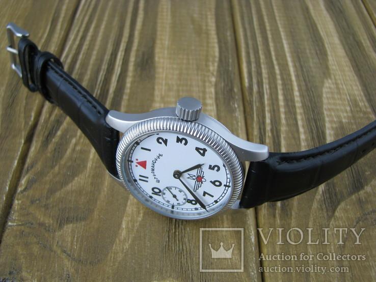 Часы наручные Молния Штурманские 3602, 18 камней, фото №10