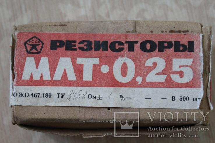 МЛТ-0,25 (R: 34,8 кОм 1% - 500 шт.), Лот №200124, фото №2