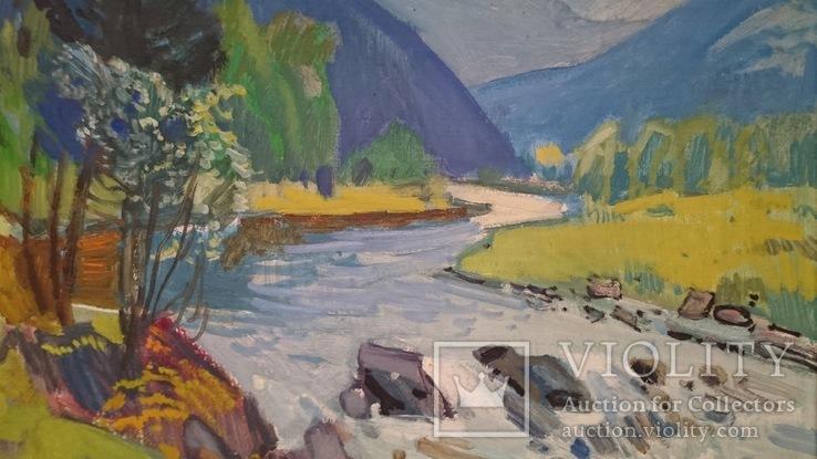 Кашшай «Пейзаж з річкою», фото №3