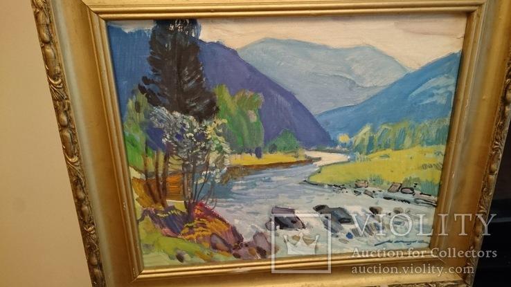 Кашшай «Пейзаж з річкою», фото №7