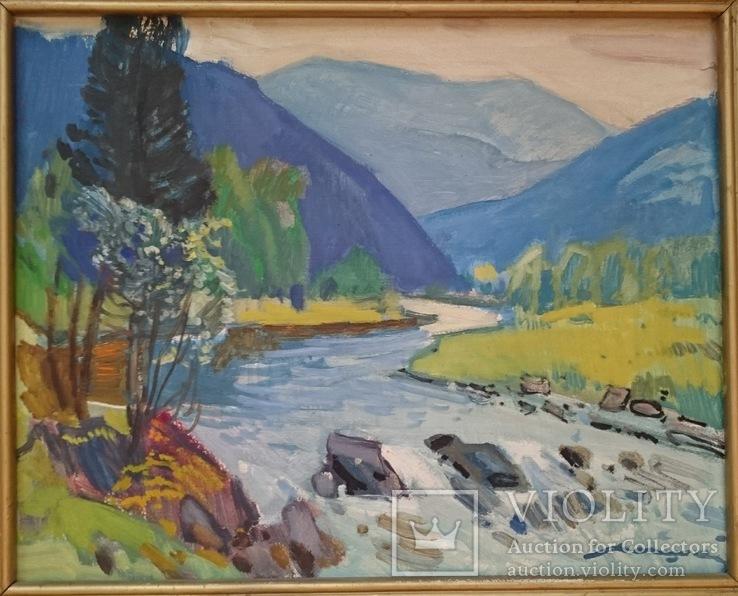 Кашшай «Пейзаж з річкою», фото №8