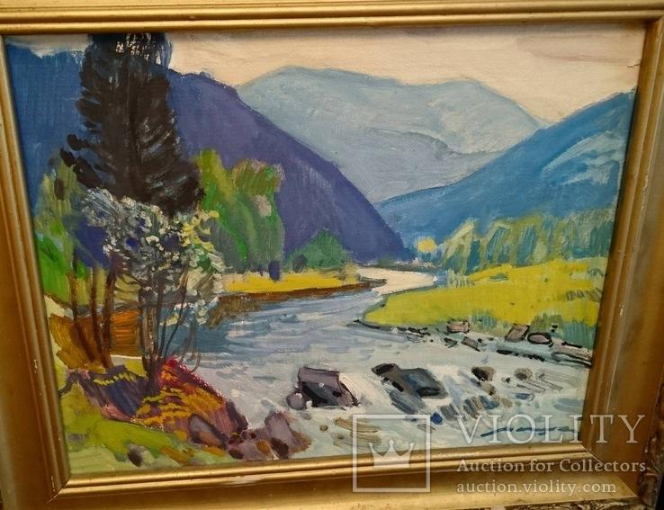 Кашшай «Пейзаж з річкою», фото №12