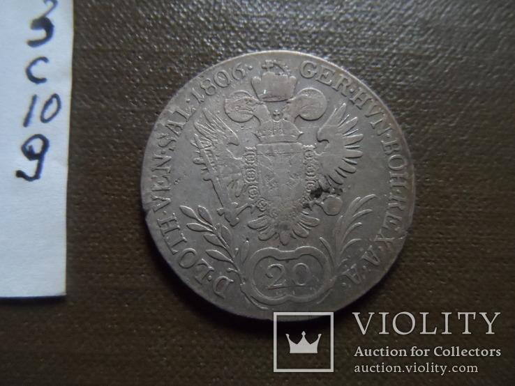 20 крейцеров 1806 Австрия, фото №8