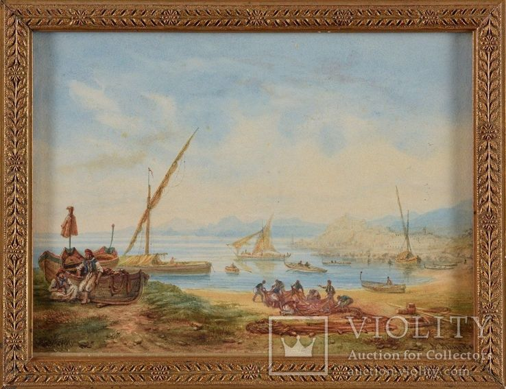 Неаполитанские рыбаки, фото №2