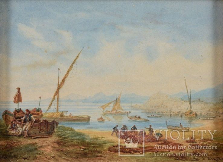Неаполитанские рыбаки, фото №4