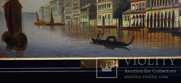Картина Венеция, фото №3