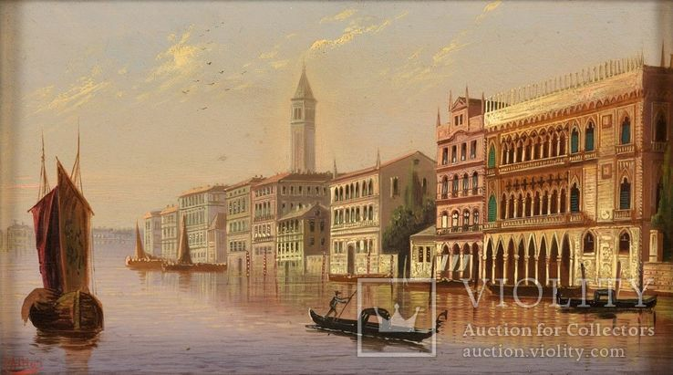Картина Венеция, фото №7