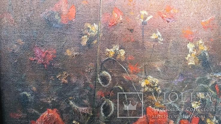 """Картина Шевченка В.А. """"Рассвет"""" холст на картоне,масло, 60х96см., фото №9"""