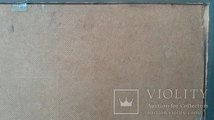 """Картина Шевченка В.А. """"Рассвет"""" холст на картоне,масло, 60х96см., фото №12"""