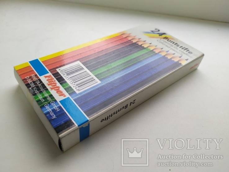 Карандаши цветные 24шт. Новые. Германия, фото №3
