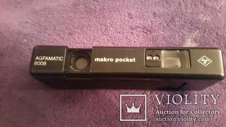 Ретро фотоаппарат Agfamatic 6008 makro pocket, фото №2