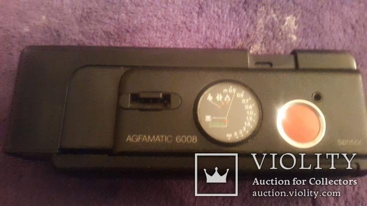 Ретро фотоаппарат Agfamatic 6008 makro pocket, фото №5