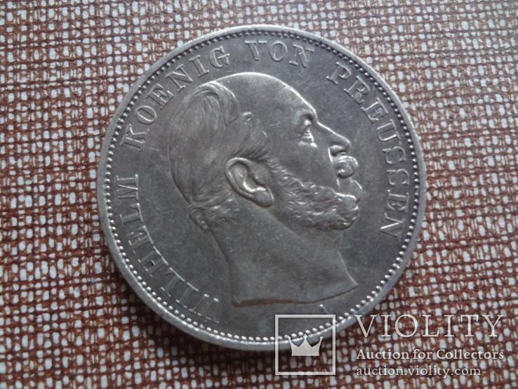 1 талер 1871 Пруссия Победный  серебро  (Ж.5.10) ~, фото №4