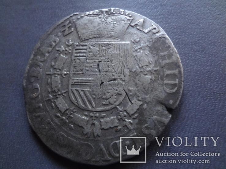 Талер 1718 Патагон  серебро  (Ж.5.13)~, фото №5