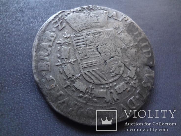 Талер 1718 Патагон  серебро  (Ж.5.13)~, фото №6