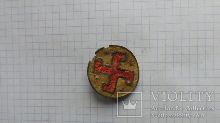 Римская фибула свастика, фото №3