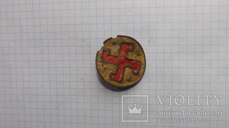 Римская фибула свастика, фото №4