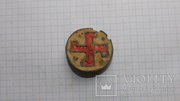 Римская фибула свастика, фото №7