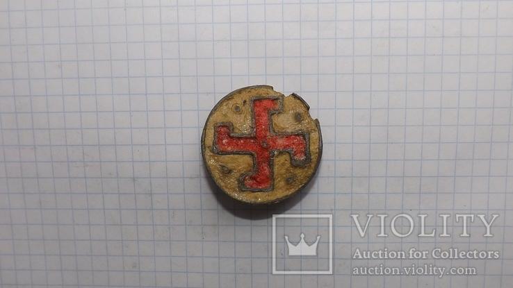 Римская фибула свастика, фото №8