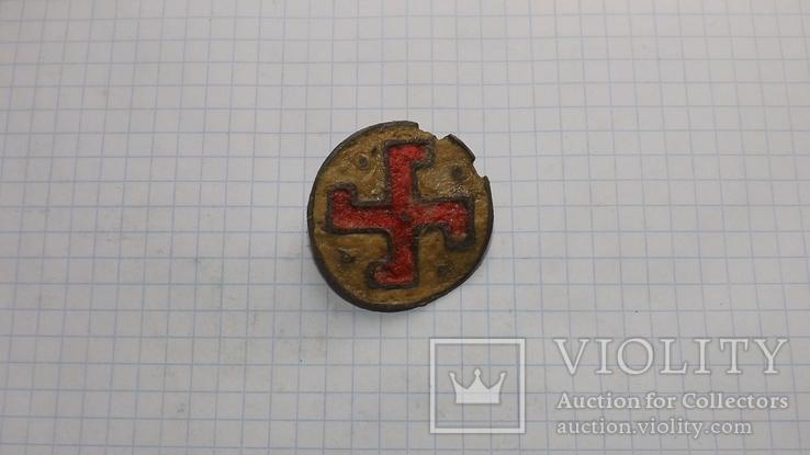 Римская фибула свастика, фото №9